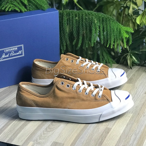 1ac4467d132d NWT Converse JP Signature OX Luggage Tan M AUTHENT